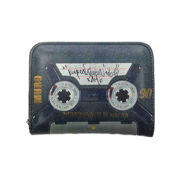 DJ MURO氏の手書きメッセージ入り。カセットテープ?!な小物