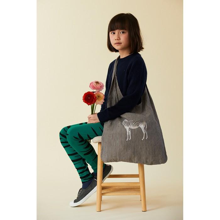 シマウマのシマシマ・リネンバッグで身軽に春の装いを🌸