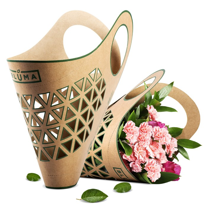 花のある暮らしに、新しいスタイルを。切り花専用のキャリーバッグ。