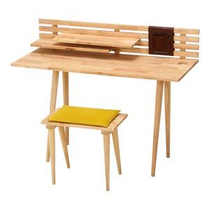 天然木使用、北欧風デザインのデスク&チェアセットのご紹介
