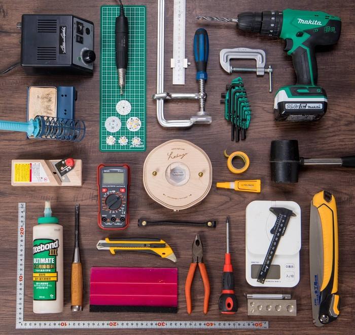 hokageはこんな道具たちに囲まれて育ってきました。