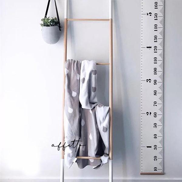 子供の成長を記録に残せる壁掛け身長チャート✨