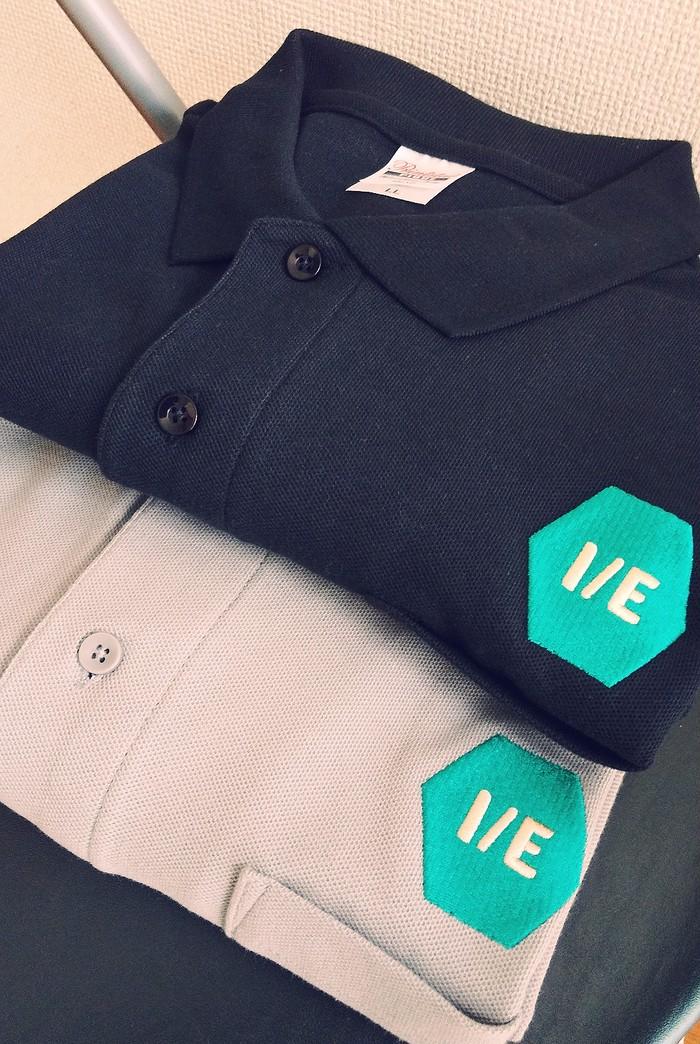 【NEW ARRIVAL】I/Eロゴ ビックポロシャツ