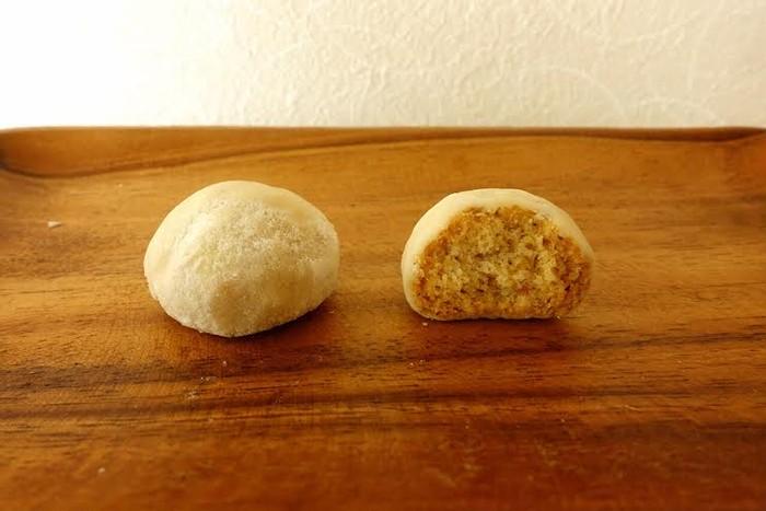 口の中でやさしくほどける、『真っ白な雪玉』という意味のお菓子・ブールドゥネージュ