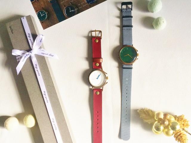 クリスマスギフトにオススメ!ipsilonのシンプルシックなハンドメイドウォッチ