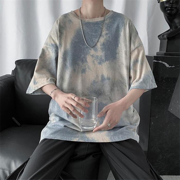 絞り染めならこのTシャツに決まり!