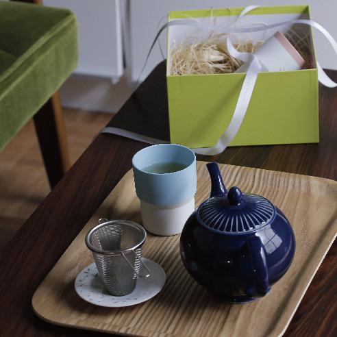 「Needle to leaf」のお茶でちょっぴり贅沢なティータイムを。