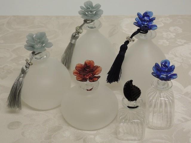 母の日の贈り物は何?ヴェネチアンガラスの香水瓶でいい匂いを身につけて♡