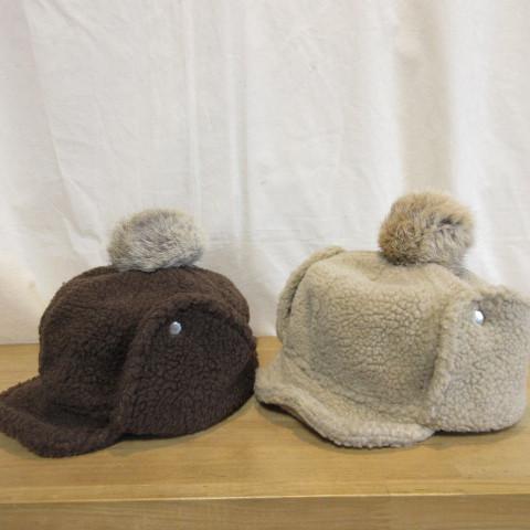 冬の冷たい風から耳を守ろう!冬の準備を始めるなら、まずはキッズ耳あて付ボア帽子から♪