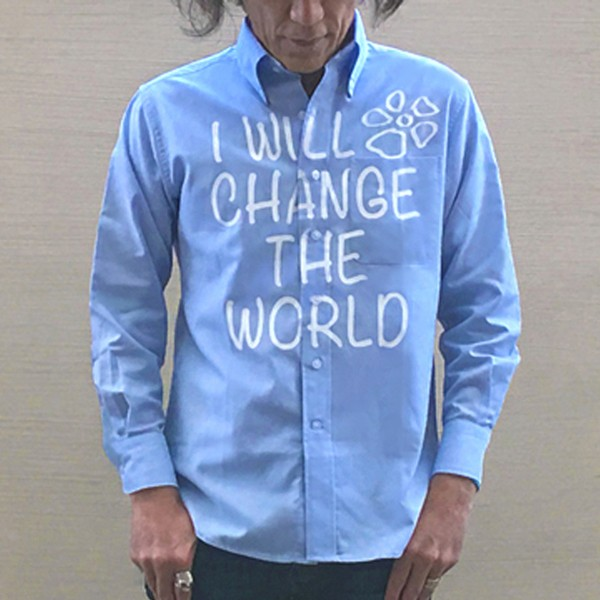 I WILL CHANGE THE WORLD、私は世界を変える!