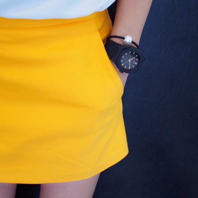 夏でも黒が好き!腕時計もオールブラックにしませんか?
