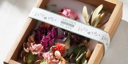 母の日限定♡お花をアロマキャンドルで閉じ込めた、フラワーボックス