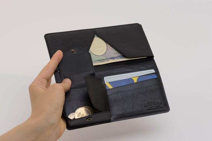 ミニマルなライフスタイルにピッタリ!コンパクト長財布「Ollet」