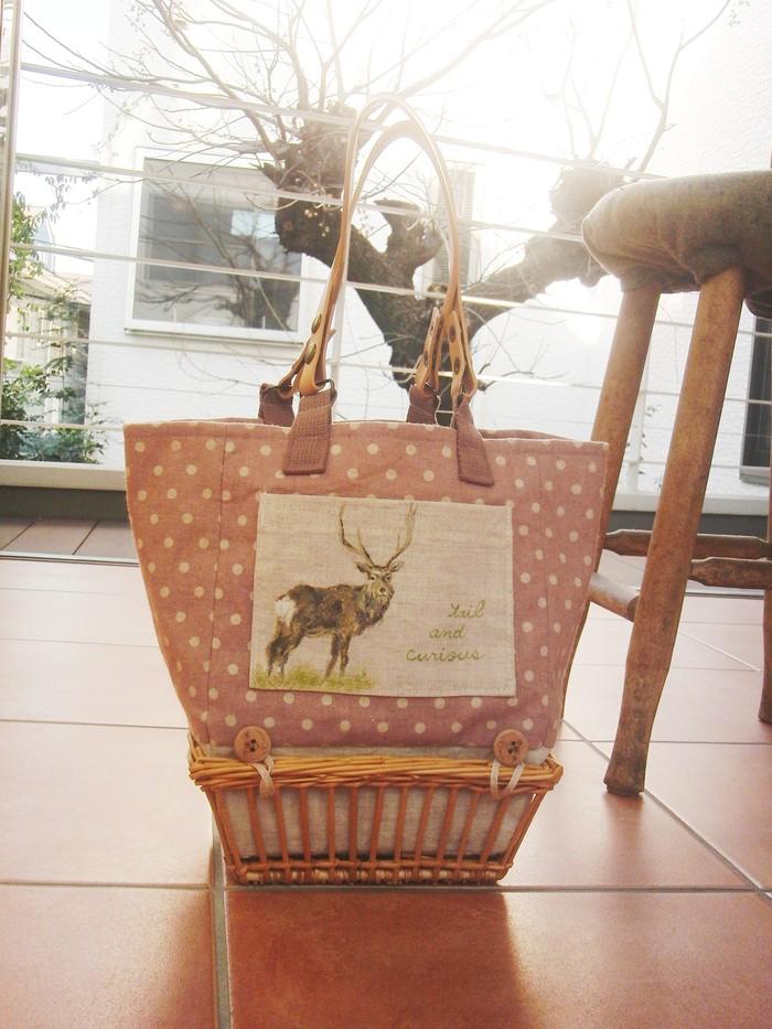 動物好きさんにはたまらない!? 野生動物柄のオリジナルリバーシブルバッグ