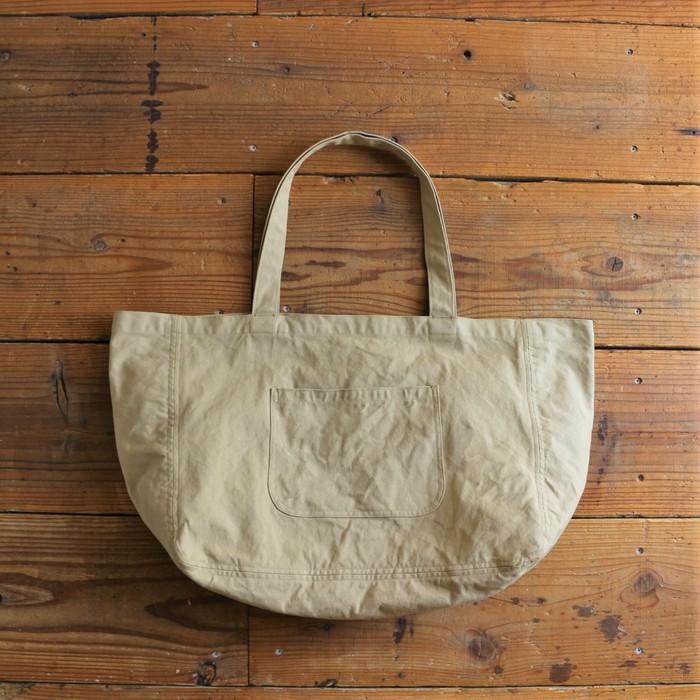 A3が入る便利な大きめサイズ!エコバッグとしても使える帆布のしっかりバッグ