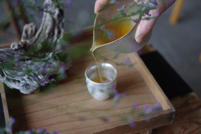 日常に特別な時間を。料理家と茶師が作った唯一無二の日本茶。月花蜜。