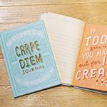 使い方は自由♪『カルペ ディエム ジャーナル』に今日という日を書き込もう!