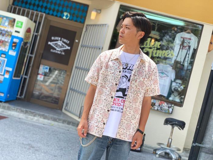 【バンダナ柄を採用したオリジナルシャツ】