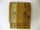 手織りのざっくり感が嬉しい!京都で織られた西陣織の帯