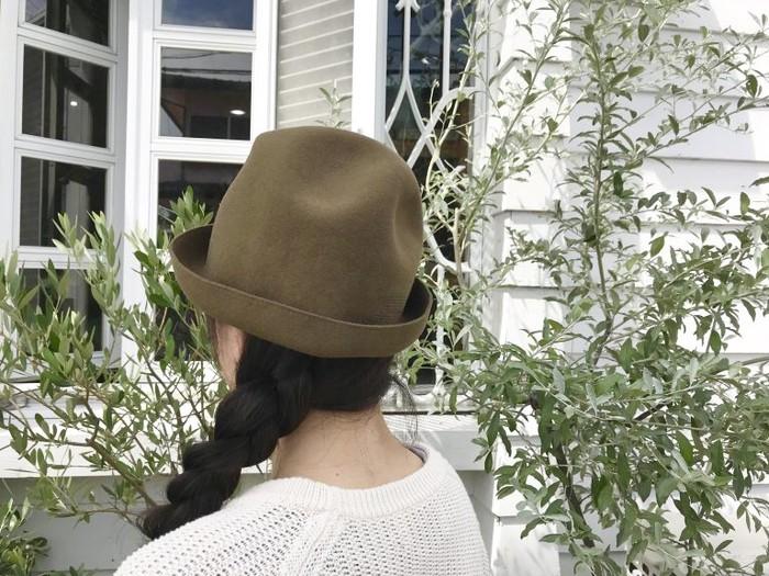 変幻自在という名の帽子、秋冬も素敵 ♪ mature ha. マチュアーハ  フリーハット