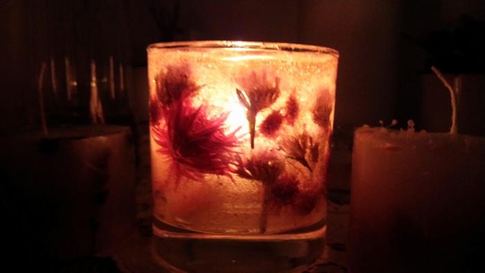 お部屋をおしゃれに飾ってみませんか?癒しとインテリアのシャンパングラスキャンドル