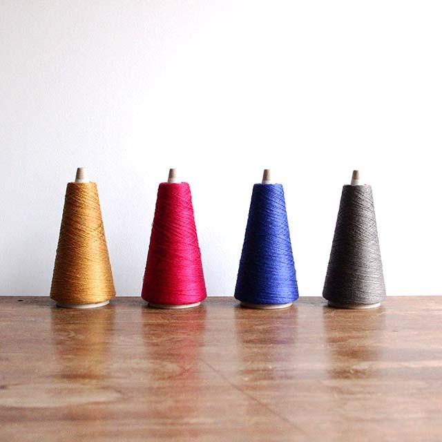 上質な原料で作られたベルギーリネン糸に新色が登場!