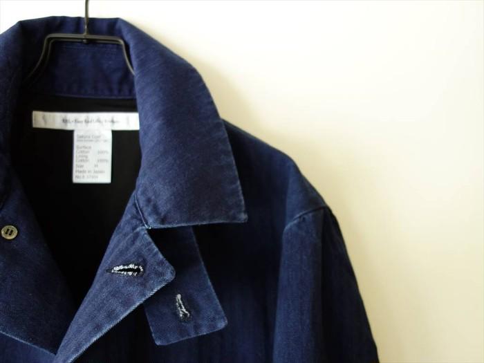 """春の気分を先取り!スプリングコートの名品「サクラコート」の限定色""""藍を込めて"""""""