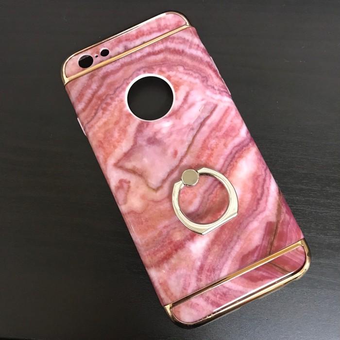 艶やかな色気にうっとり♪大理石風iPhoneケース