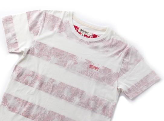 インサイドプリントが珍しい!「MAGIC NUMBER」のボーダーTシャツ