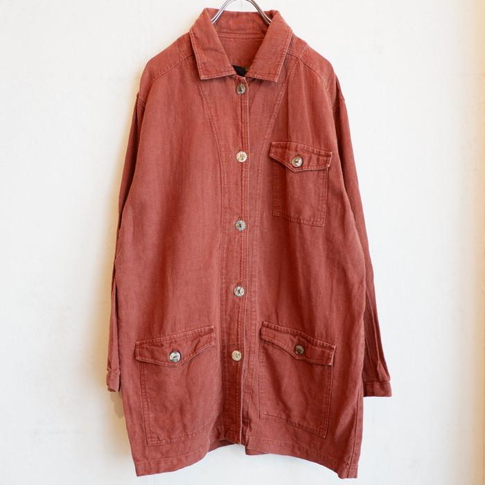 USA製 hemp linen jacket