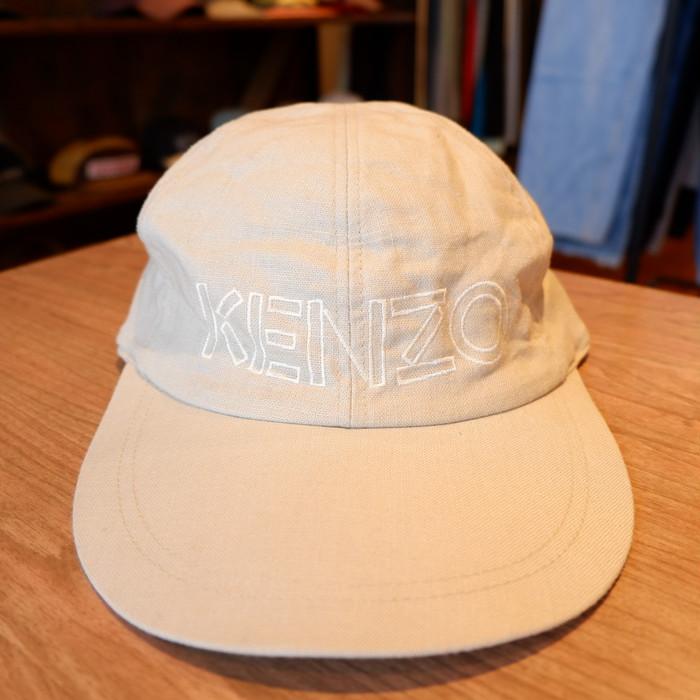 KENZO linen logo capのご紹介