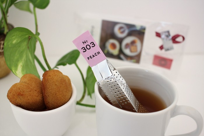 もうすぐホワイトデー♪本格的茶葉をアルミステックに詰めこんだオシャレな紅茶