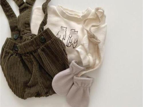 秋もかわいい 赤ちゃんのための「パンプキンパンツ」🐻🍂