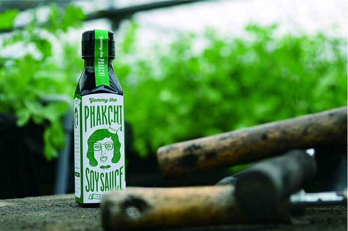 「愛媛とパクチー醤油の関係」ヤミーのパクチー醤油