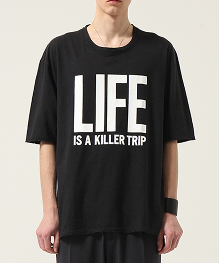 """WIZZARD """"LIFE IS A KILLER TRIP T-SHIRTS""""細美武士さん着用"""
