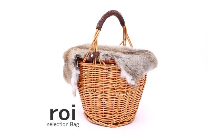 人気のファーバッグは今年もトレンドイン。秋を感じさせる籠バッグ×ファー