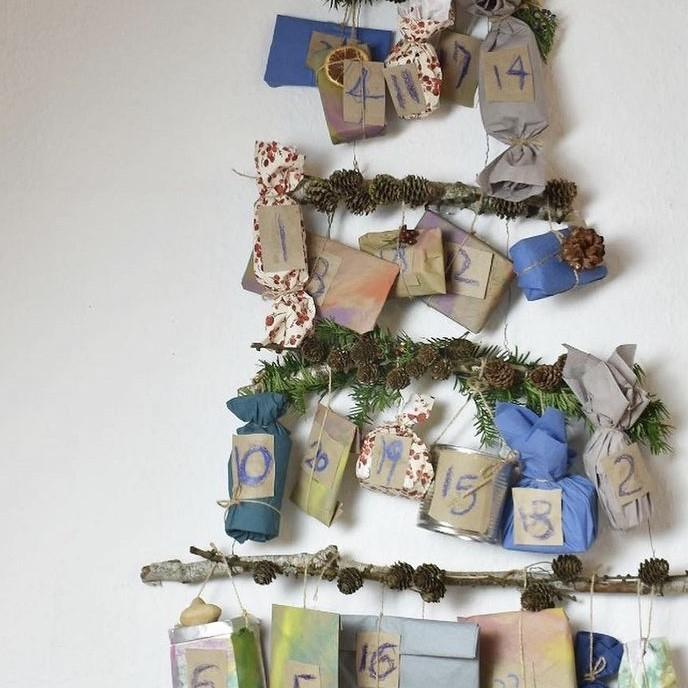 ヨーロッパで流行するおうちアドベント、エコな手作りクリスマスカレンダー