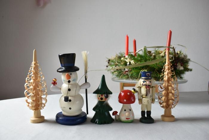 ヴィンテージのデコレーションで作る、ほっこりクリスマス時間