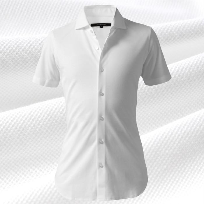【真夏をクールに乗り切る】日本製デッコーロウォモが誇るエレガントな半袖ドレスシャツ