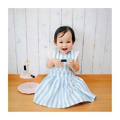 「もう食べこぼしにイライラしない!」ドレススタイでママもベビーもとびきりハッピーなお食事タイムを♥
