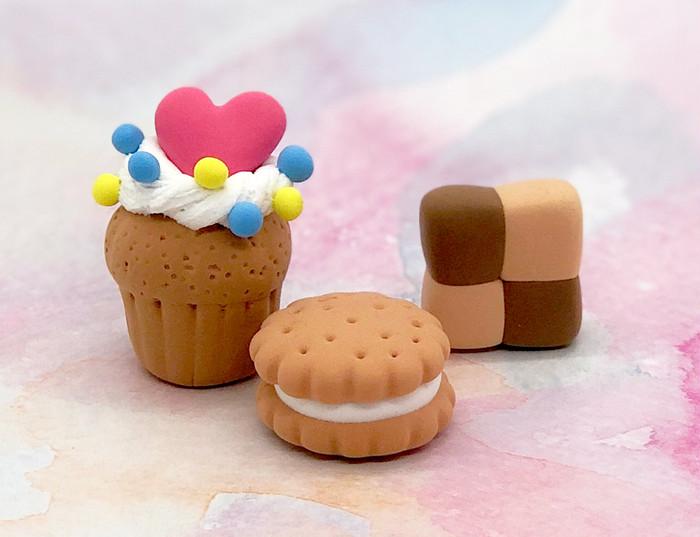 ねんどでスイーツ作ろう!カップケーキ &クッキー