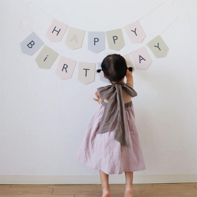 ワンピにもスカートにも!大きなリボンでお誕生日にぴったり♡