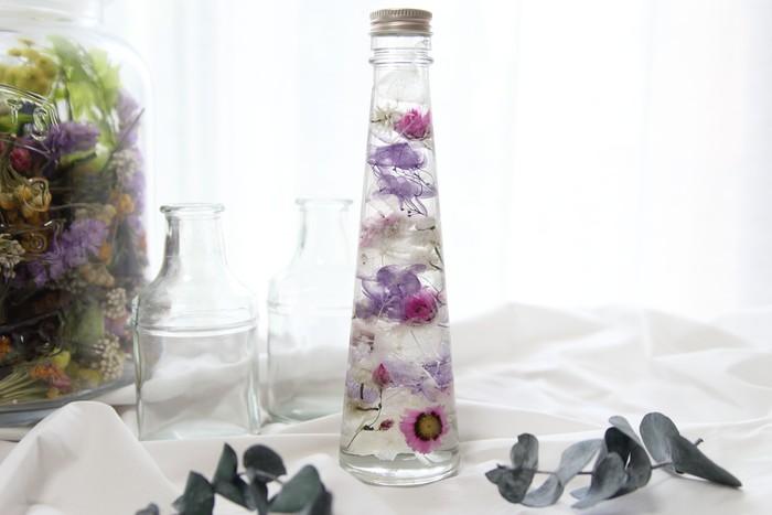 暮らしに花を…アジアンテイストなハーバリウム