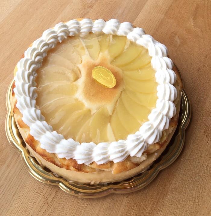 《送料無料》「ももの焼きチーズミルクレープ」真夏の冷凍ケーキの美味しい食べ方