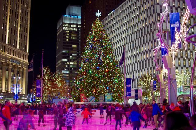 アメリカ、 デトロイトのクリスマス
