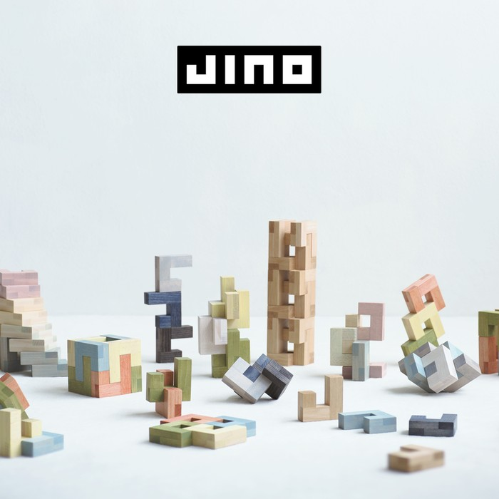 「Jino」は現代アーティストの発想を暮らしの中で体験できるクリエイティブガジェットです