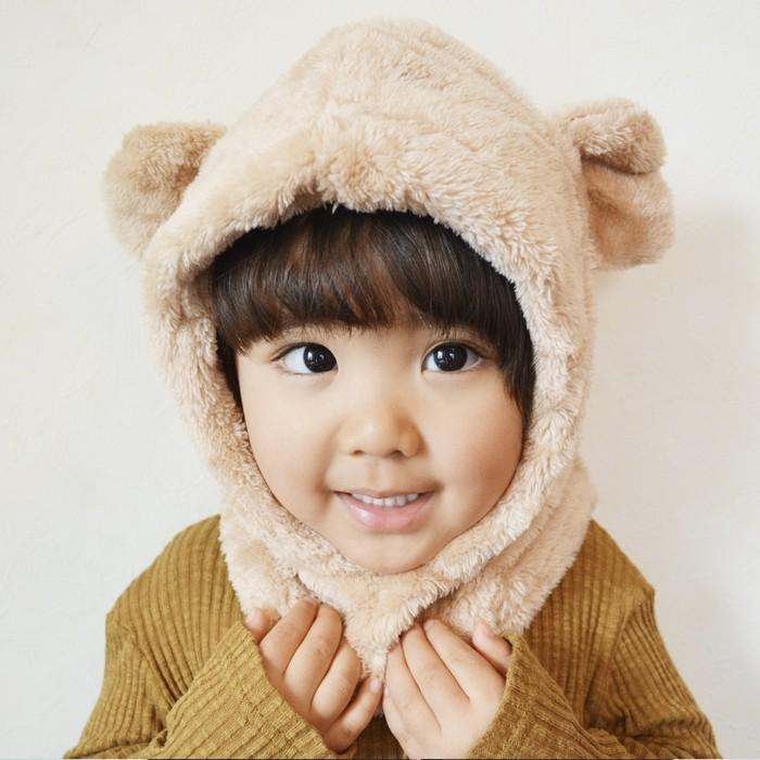 【♡爆売れ人気♡】✻*˸オシャレkids必見‼この冬はクマ耳帽子がマストアイテム˸*✻