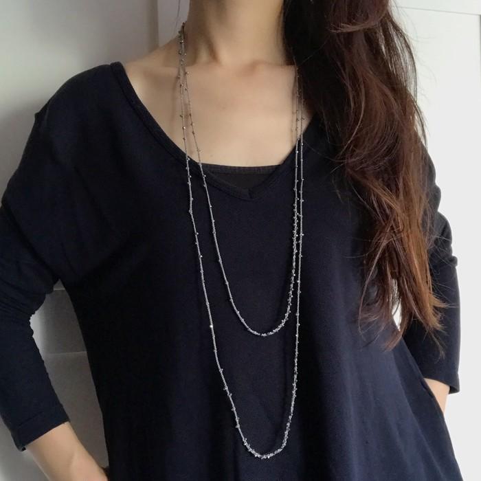 日本伝統工芸の組紐で丁寧につくりあげたロングネックレスって?