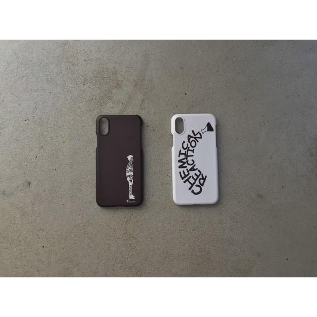 白黒を基調としたシンプルなデザイン「frasco boy original iphone case」