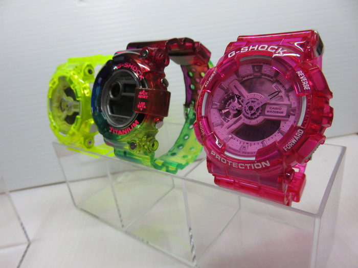 CASIO G-SHOCK  CLEAR CUSTOM